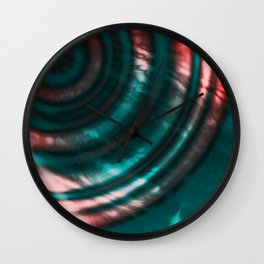 Abstract Sounds Wall Clock