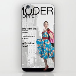 Modern Shopper iPhone Skin