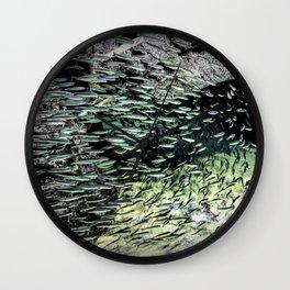 Shimmering Shoal Wall Clock