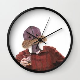 Jolly Swanson Wall Clock