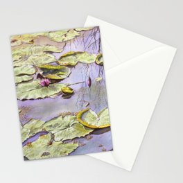 Reflection, watercolor Stationery Cards