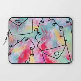 Grab Your Bag and Fly and See the World by Lenna Laptop Sleeve