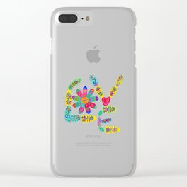 Love is the Real Deal Clear iPhone Case