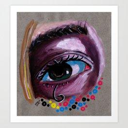 """eye study #2"" Art Print"