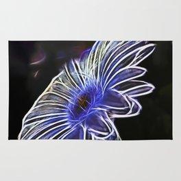 abstract daisy Rug