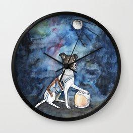 Our hero, Laika Wall Clock