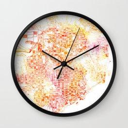 Miami Summer Wall Clock