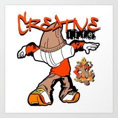 Creative Life Art Print