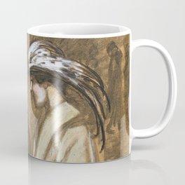 """Théophile Steinlen """"Sortie du theatre"""" Coffee Mug"""