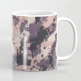 CUSTOM DUSTY PINK & PURPLE SPLATTER CAMO 2 Coffee Mug