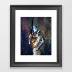 The Sword of Light Framed Art Print