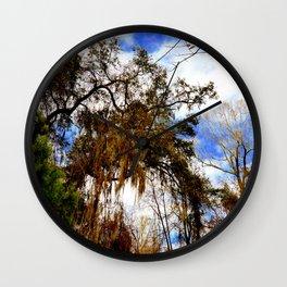 Treeover Wall Clock