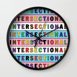 Intersectional Wall Clock