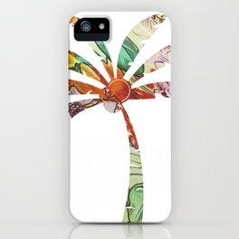 Palm Tree Fabric iPhone Case