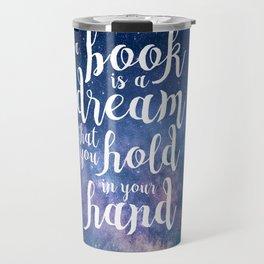 Neil Gaiman Quote Travel Mug