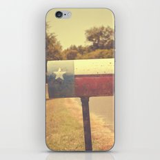 Deep in the heart of texas { You've got mail series 2012} iPhone & iPod Skin