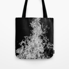 B&W Blaze Tote Bag