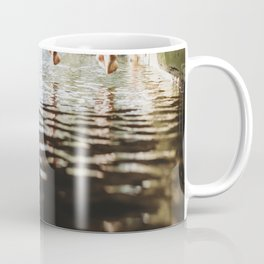 Friends relaxing on the pier Coffee Mug