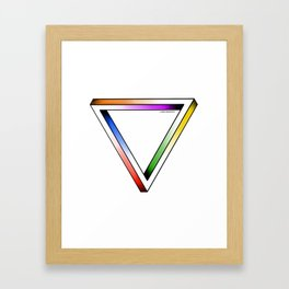 The Illusion Framed Art Print