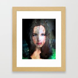 Celebrity Row - Rachel  Framed Art Print