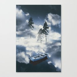 Forest sailing Canvas Print
