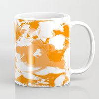 egg Mugs featuring Egg by Cart My Art