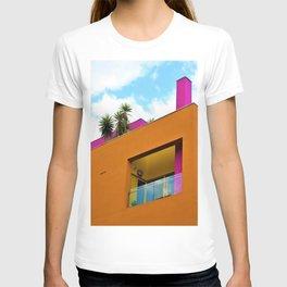 Slanted Orange T-shirt