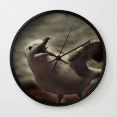Tom Feiler Seagull Wall Clock