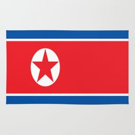 Flag of North Korea Rug