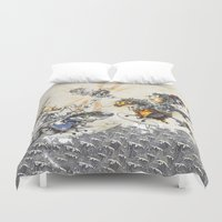 knight Duvet Covers featuring Knight by JoeyDrawing