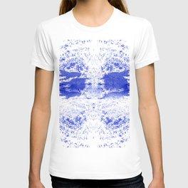 Deep Ocean Blue with White Caps T-shirt