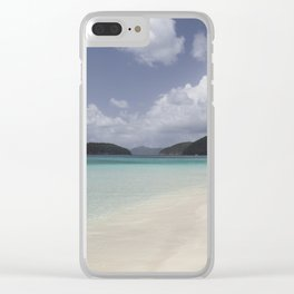 Cinnamon Bay Clear iPhone Case