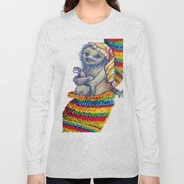 Sloth in a Sock Long Sleeve T-shirt