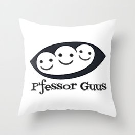 P'fessor Guus Seeds of Optimism Throw Pillow