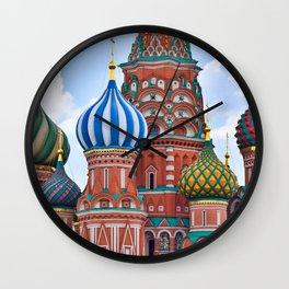 Domes Of St. Basil Wall Clock
