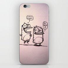 Grow Up :) iPhone & iPod Skin