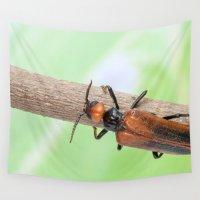 beetle Wall Tapestries featuring Beetle by Marcel Derweduwen