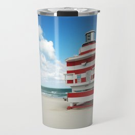 Baywatch House (Miami Beach, Florida) Travel Mug