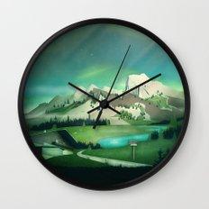 Alpine Enchantment Wall Clock
