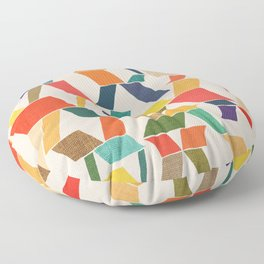The X Floor Pillow