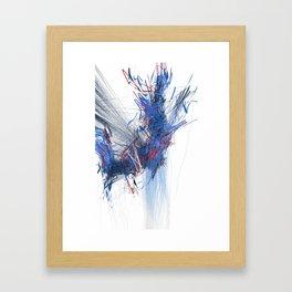 Unwelcome Gaze – Facebook 16 Framed Art Print