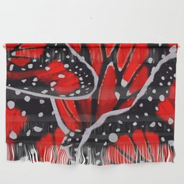 red monarch Wall Hanging