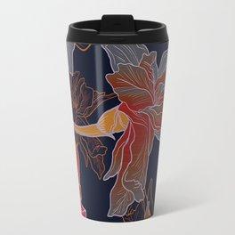 Iris Flower  3 Travel Mug