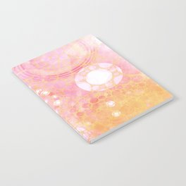 Circles Sunset Notebook