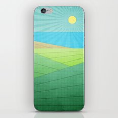 I Can See The Beach iPhone & iPod Skin