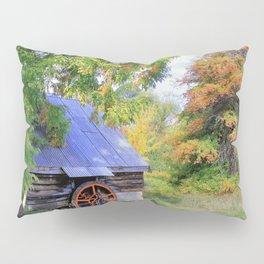 Barn Autumn Landscape Pillow Sham