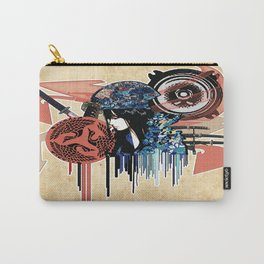 my sound style's hidden by leaves... by rmd Carry-All Pouch