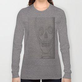 Strangely Concerned Long Sleeve T-shirt