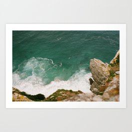 Cliff Lookout Art Print