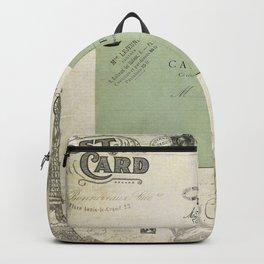 Vintage Grunge - Postcards & Travels Backpack